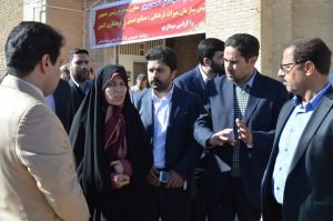 Honorable vice president visited Mishijan historical castle